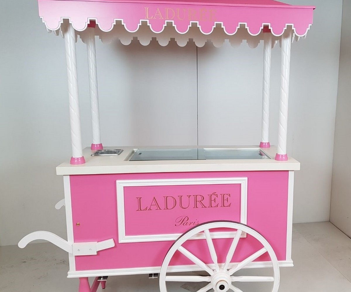 Chariot à glaces - Ladurée