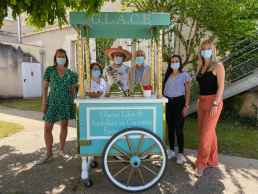 Chariot à glaces - Hôpital de Fumel