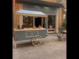Chariot à glaces - Pâtisserie Ness