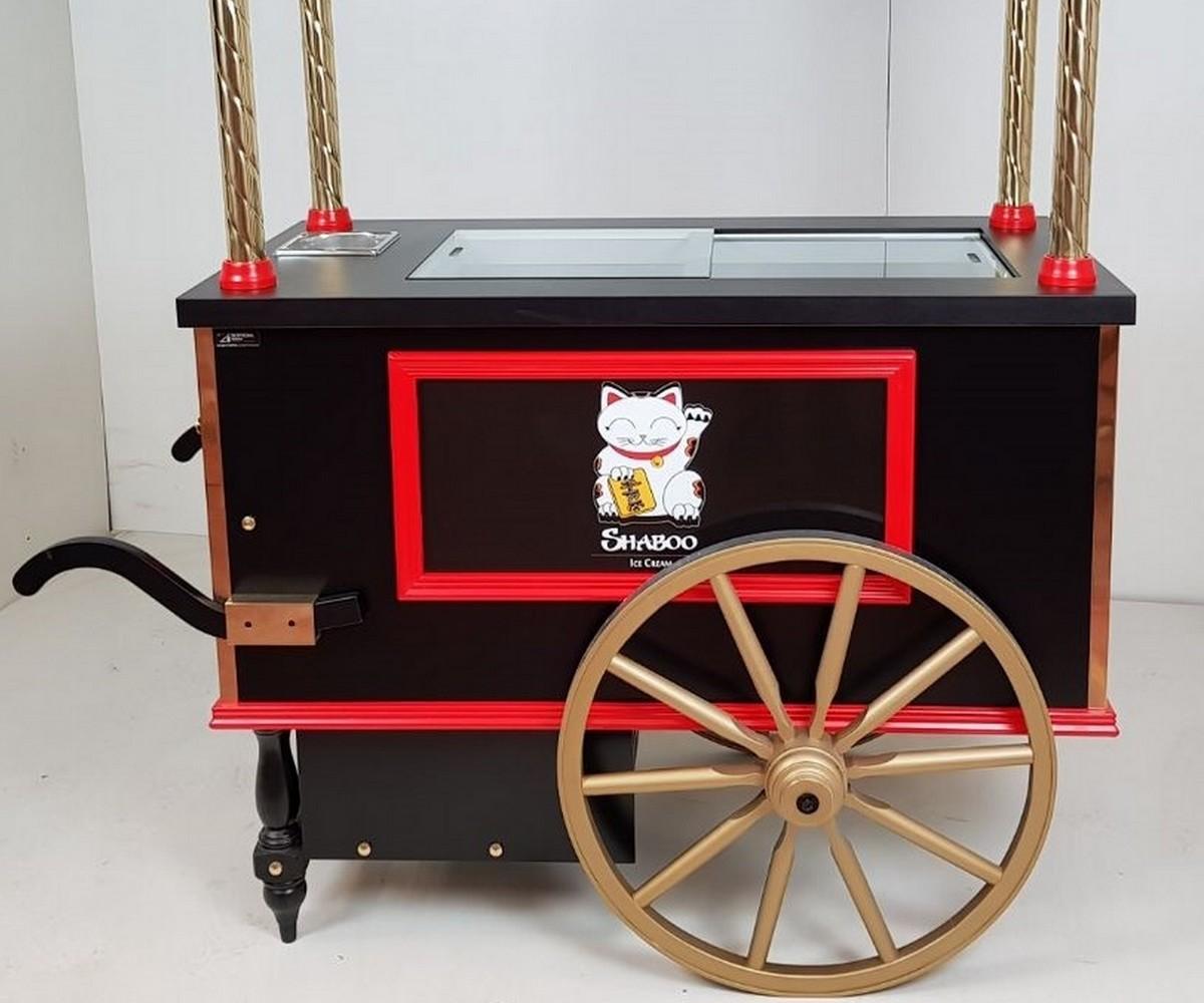 Chariots pour crèmes glacées - Restaurant SHABOO