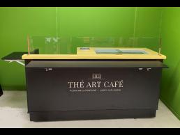 Chariot à glaces, gaufres et café - THE ART CAFE