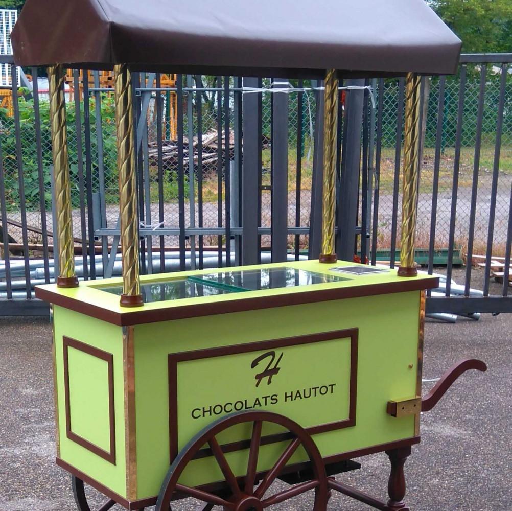 Chariot - Chocolat Hautot