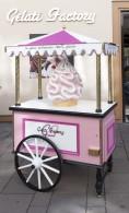Chariot de présentation - Gelati factory