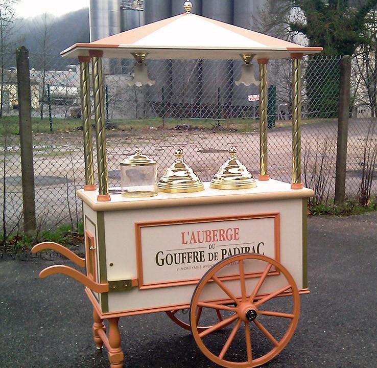 Chariot - Auberge du Gouffre de Padirac