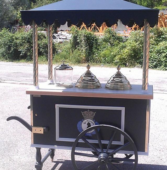 Chariot - Les marquis Ladurée