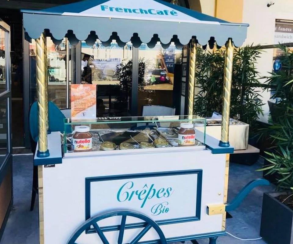 Chariot à crêpes French Café