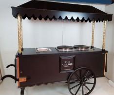 Chariot à crêpes pour The Village