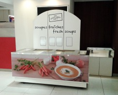 Chariot - bar à soupes