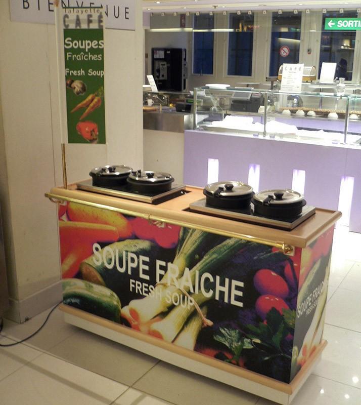 Bar à soupes - Café Lafayette