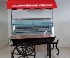 Charrette pour pâtisseries – Restaurant Le Tremplin