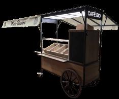 Chariot à café et viennoiseries - Marie Blachère