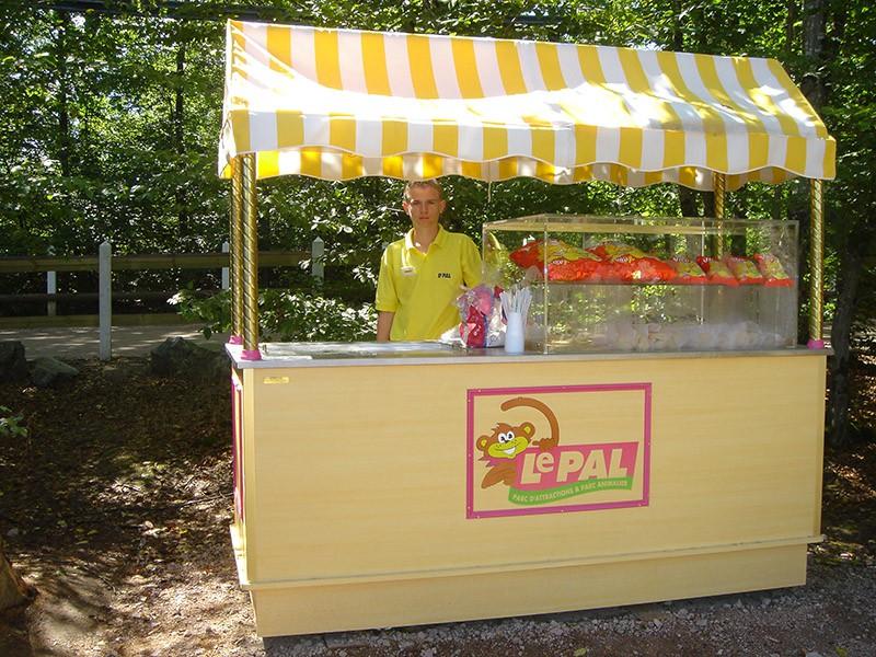 Chariot de snacking - Le Pal