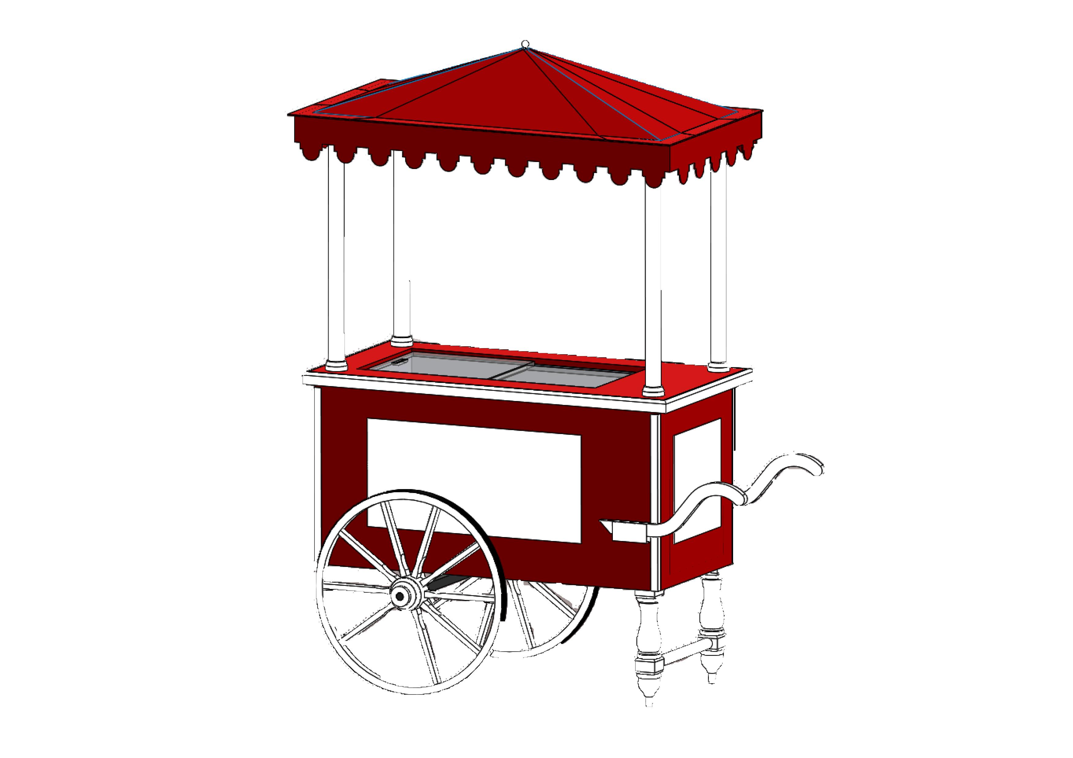 Visuel 3D chariot