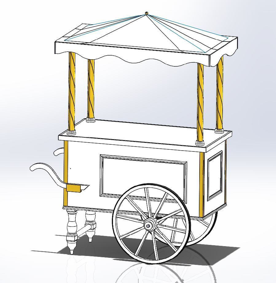 Maquette chariot